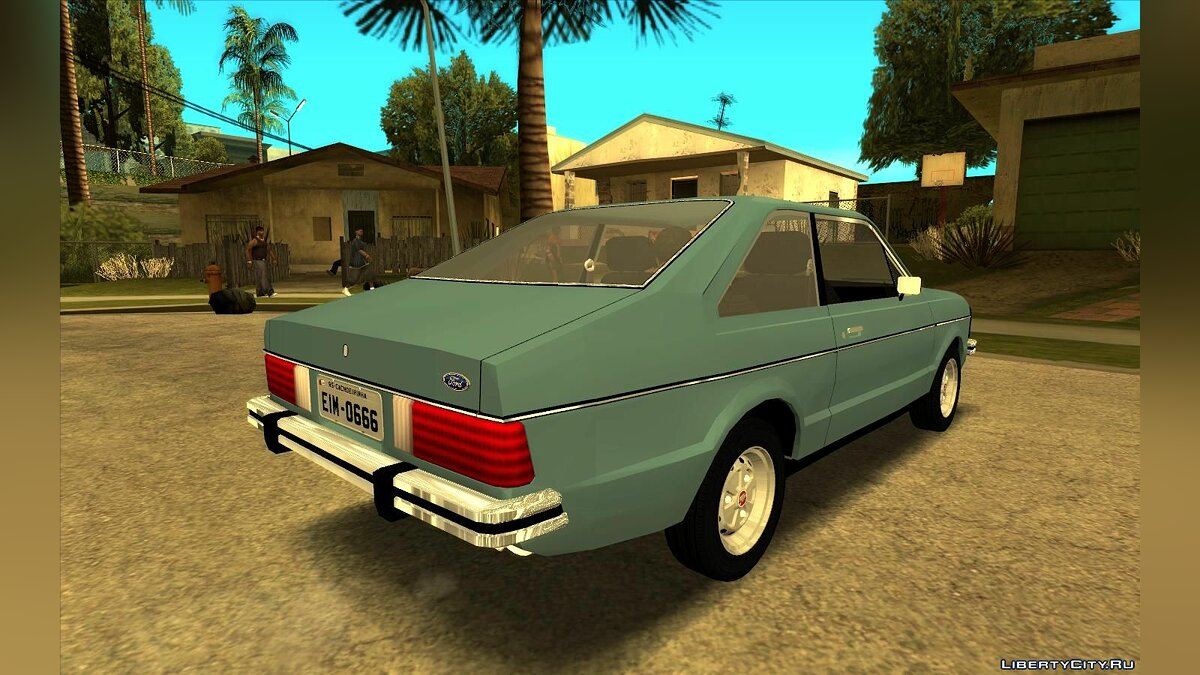 Ford car Ford Corcel II 1978 for GTA San Andreas