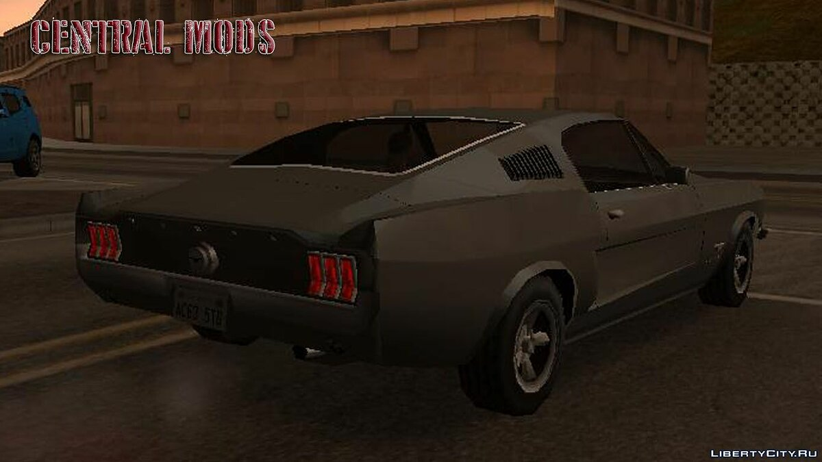Ford car Improved version of the Ford Mustang 1970 for GTA San Andreas