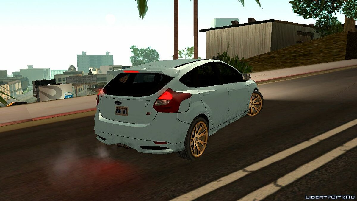 Ford car Ford Focus ST 2016 for GTA San Andreas