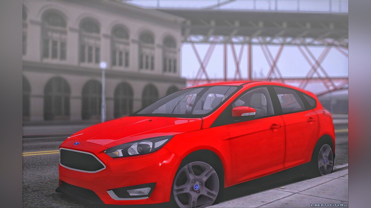 Ford car Ford Focus 3 Hatchback for GTA San Andreas