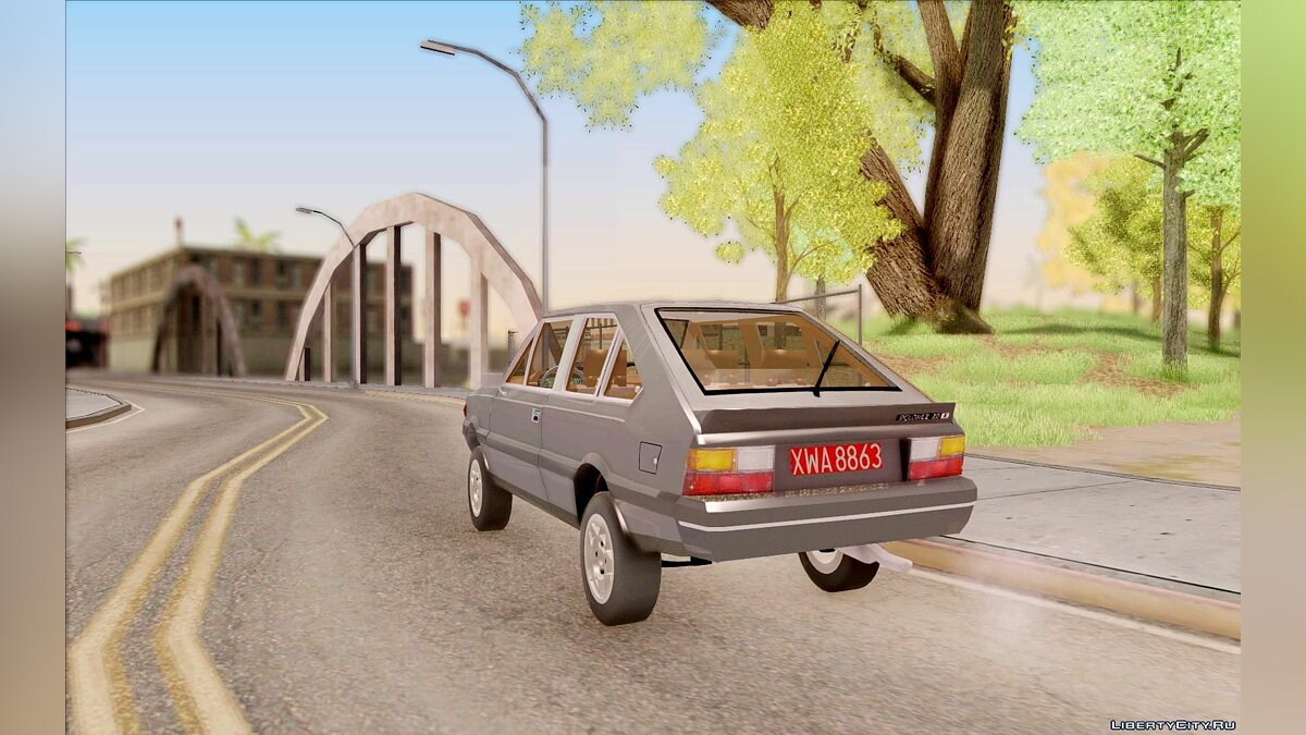 FSO car FSO Polonez Coupe 2.0X for GTA San Andreas