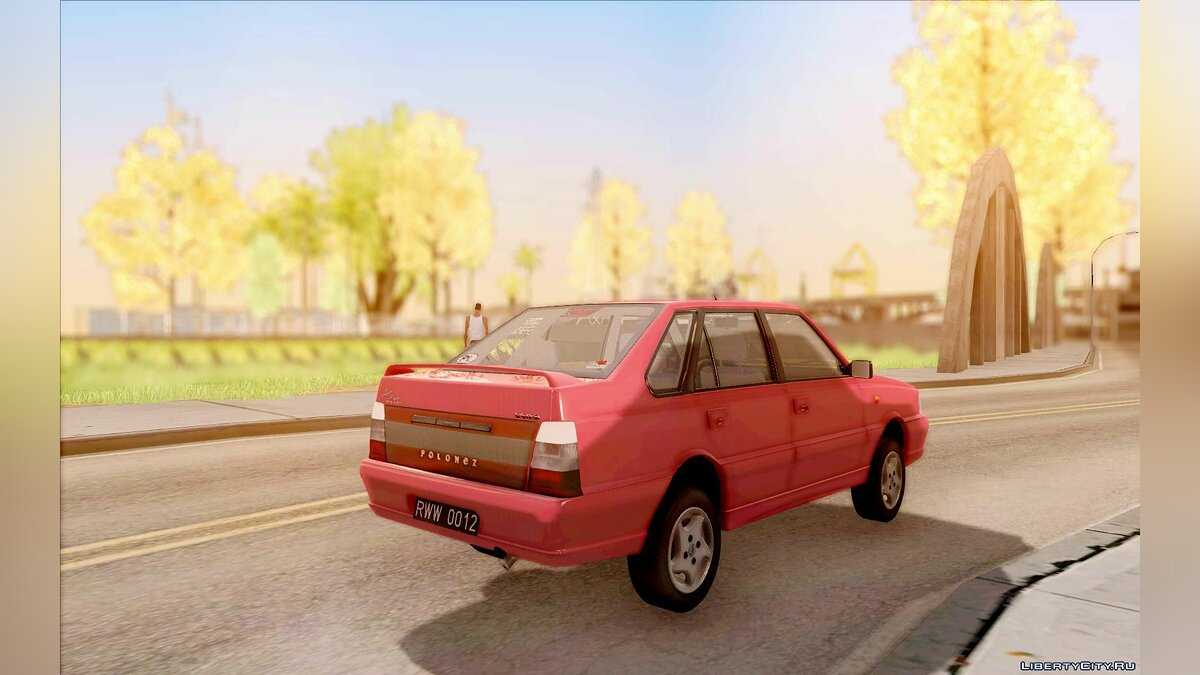 FSO car Daewoo-FSO Polonez Atu Plus 1.6 for GTA San Andreas