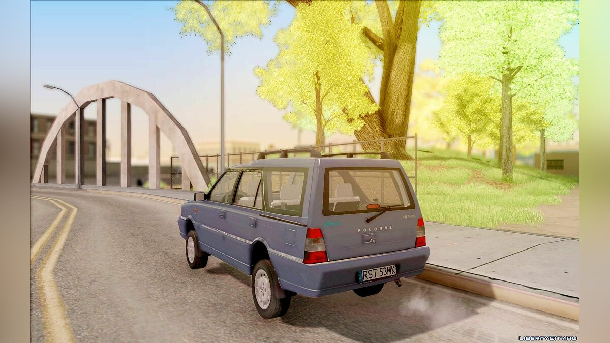 FSO car Daewoo FSO Polonez Kombi 1.6 2000 for GTA San Andreas