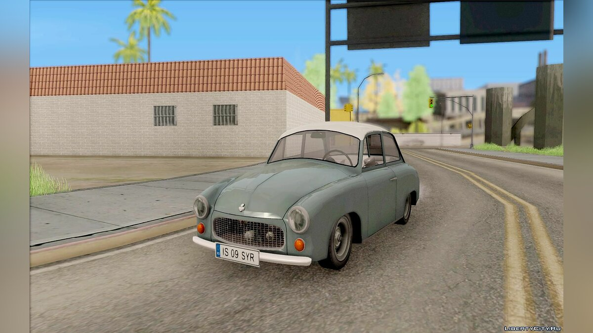 FSO car Syrena 104 Polish version for GTA San Andreas