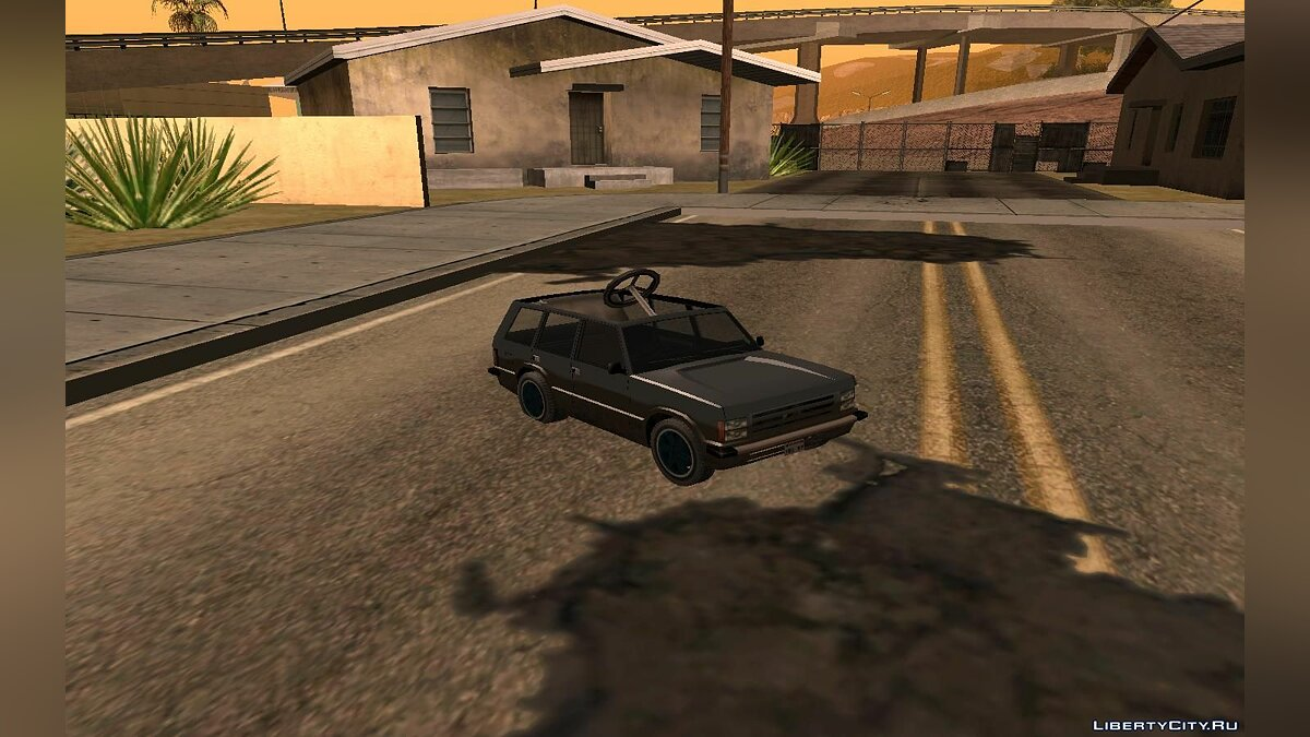 Funny car Children's Huntley for GTA San Andreas