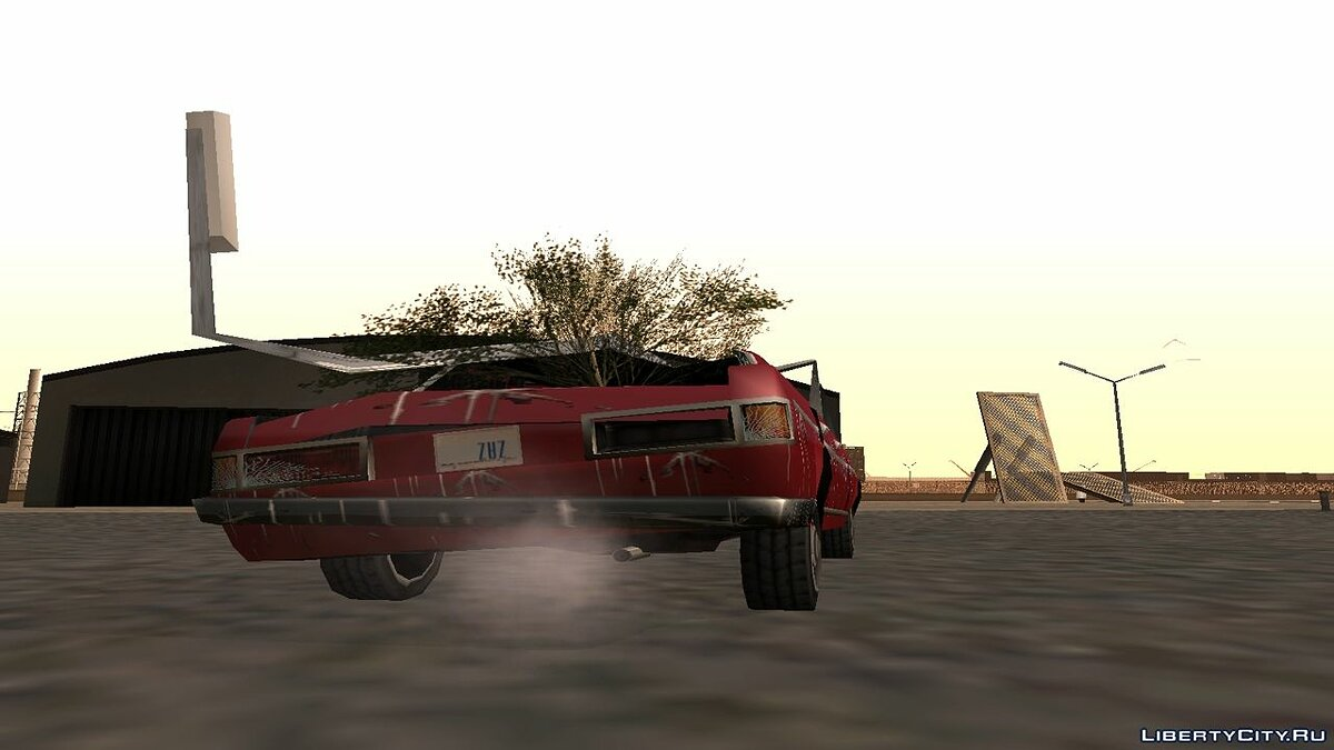 Funny car Admiral from The Sudden Prolapse movie for GTA San Andreas