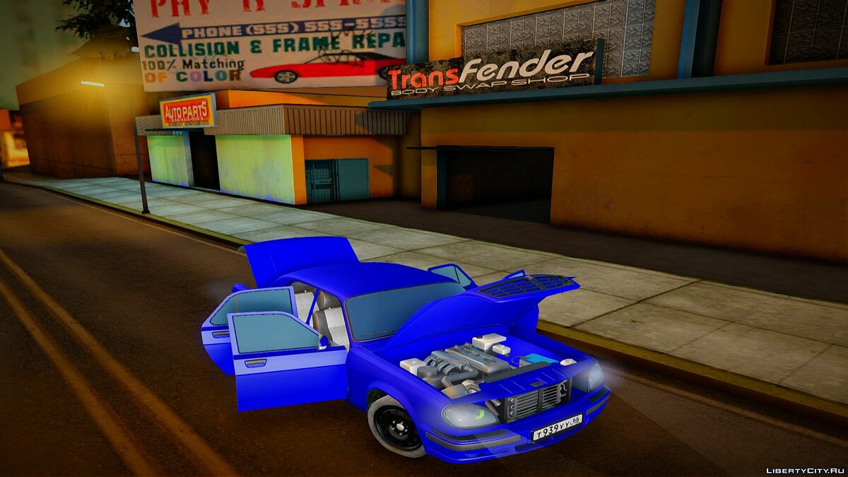 GAZ car GAZ 31105 for GTA San Andreas