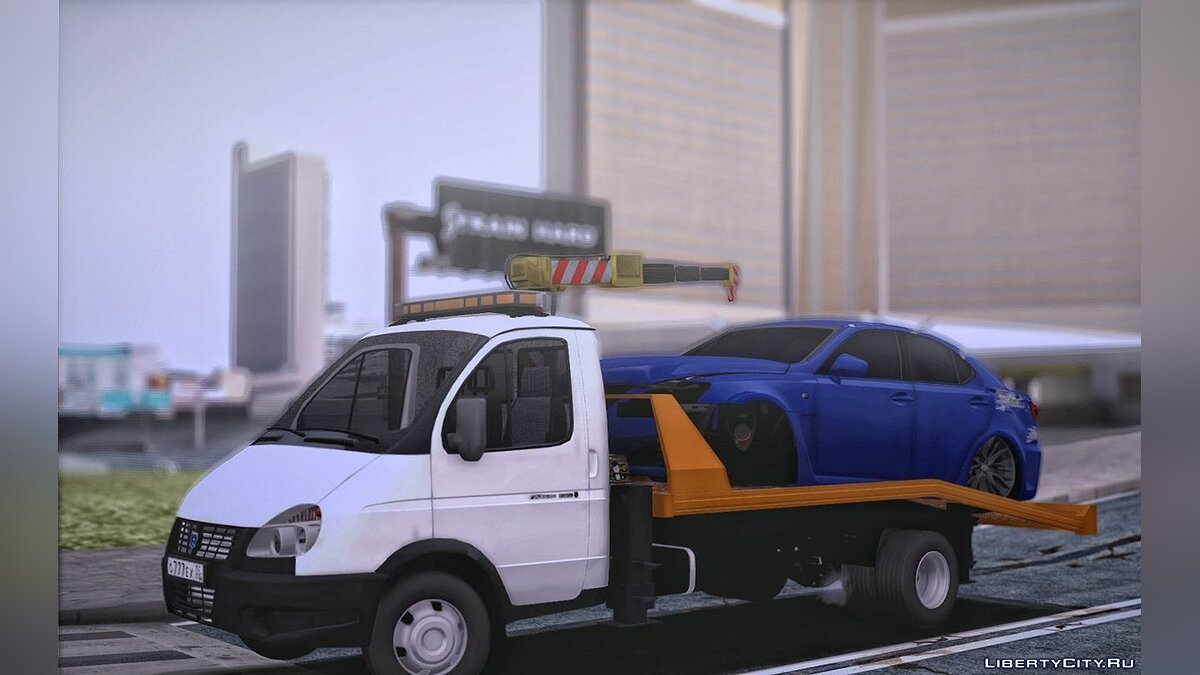 GAZ car Gazelle Tow Truck for GTA San Andreas