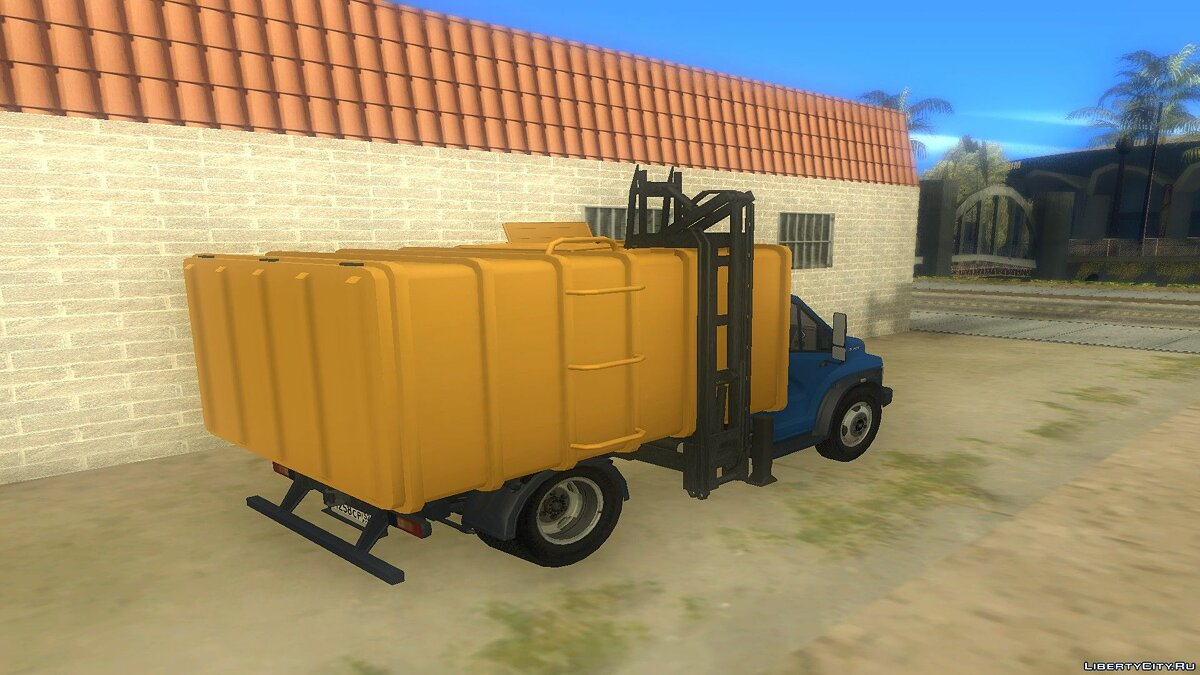 GAZ car ГАЗон Next Мусоровоз for GTA San Andreas