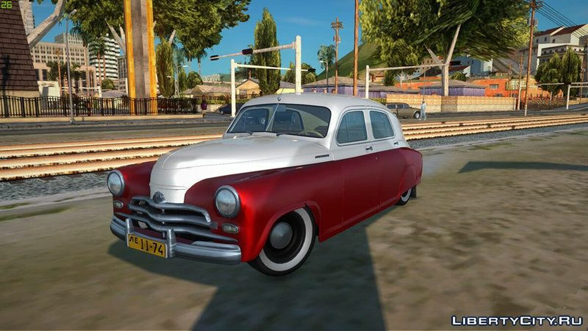 GAZ car GAZ M20 Victory for GTA San Andreas