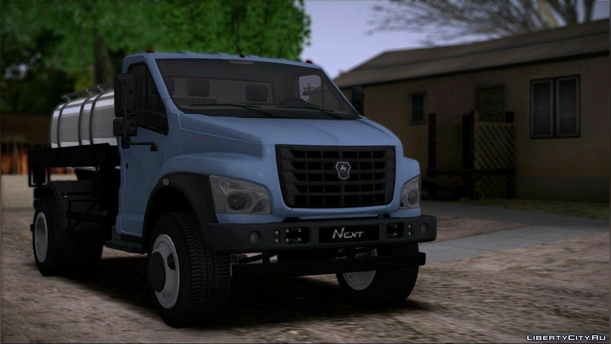 GAZ car ГАЗон Next Молоковоз for GTA San Andreas