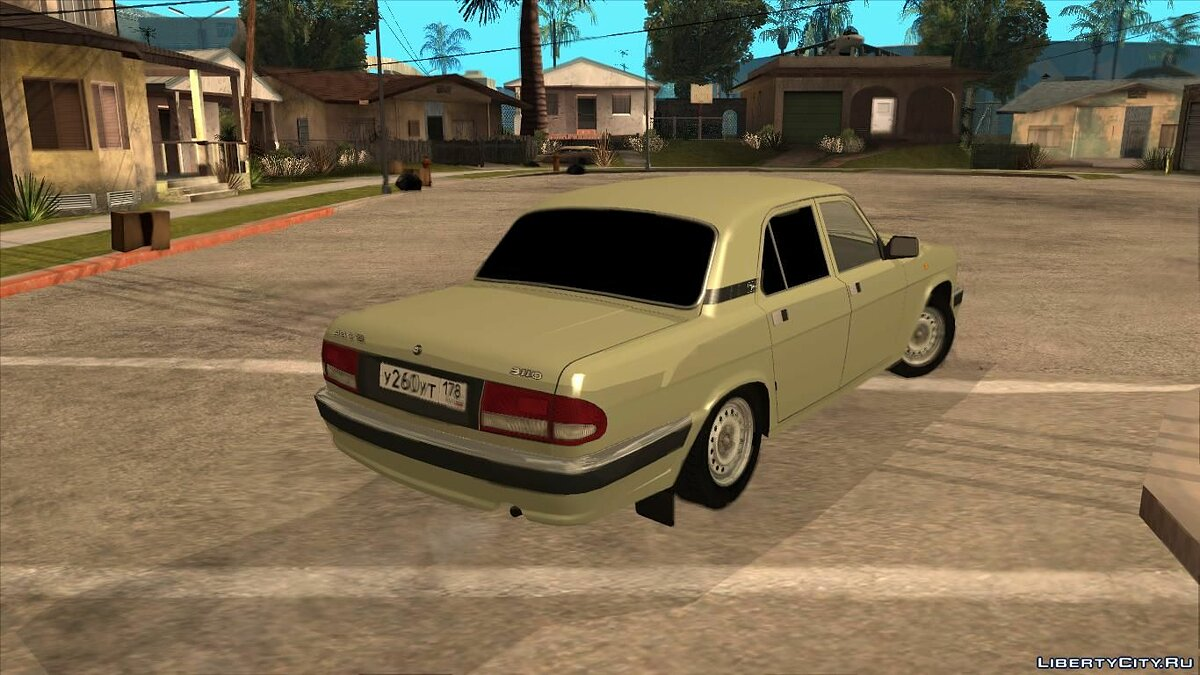 GAZ car ГАЗ 3110 for GTA San Andreas