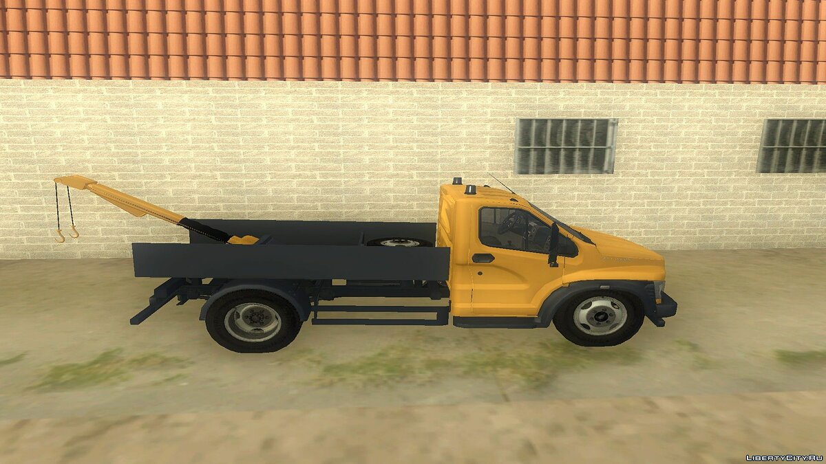 GAZ car Lawn Next Tow Truck for GTA San Andreas
