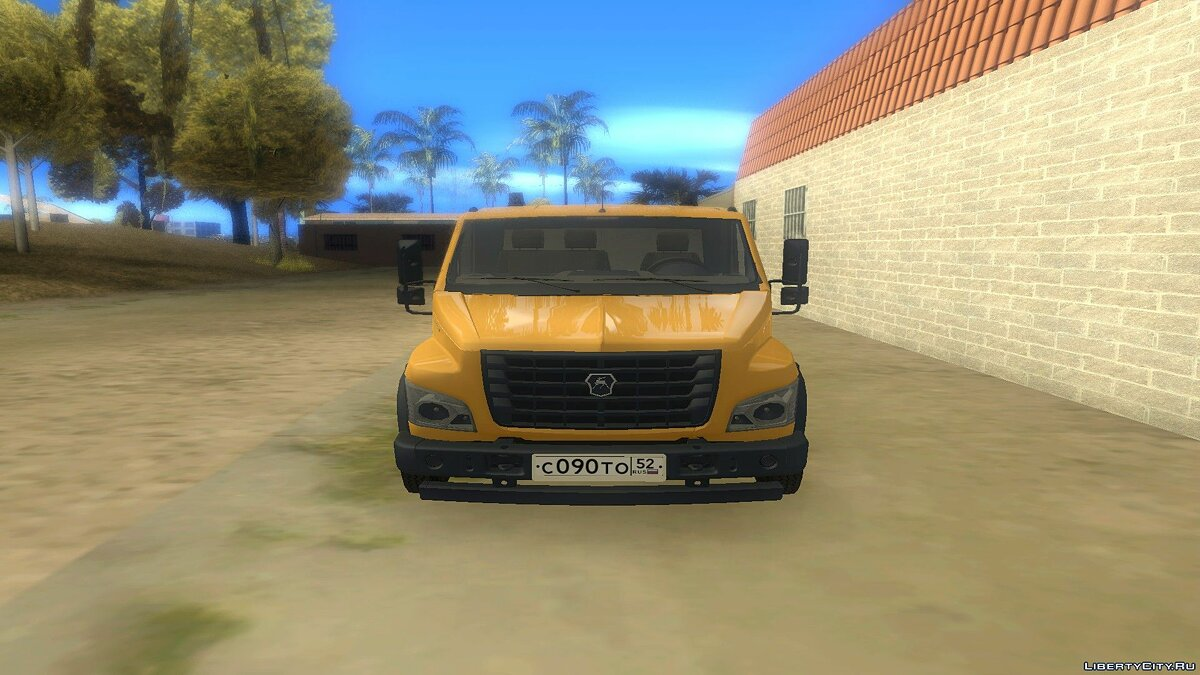 GAZ car ГАЗон Next Эвакуатор for GTA San Andreas