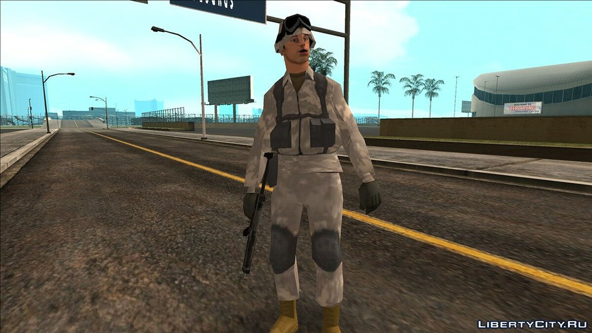Global mod Infested city remake for GTA San Andreas