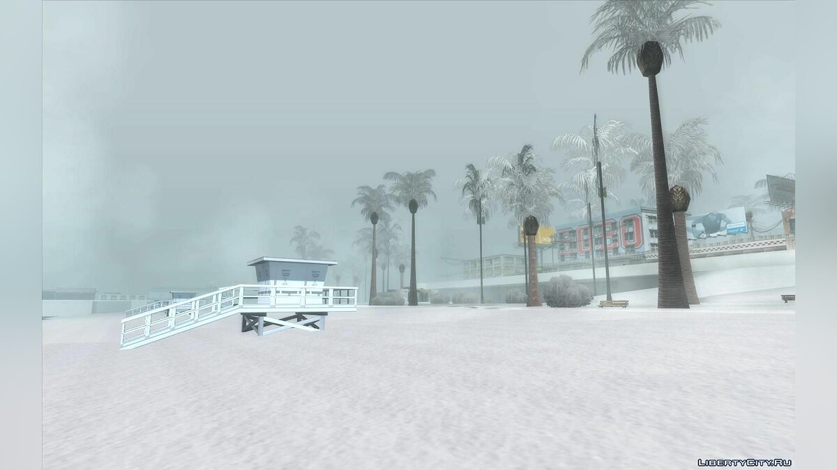 Global mod SA Snow Conversion (Update 12/20/20) for GTA San Andreas
