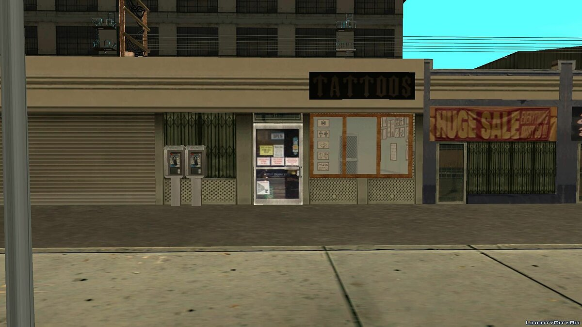Global mod GTA Open San Andreas beta 1 for GTA San Andreas