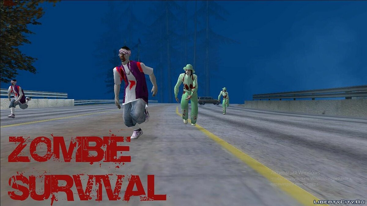 Global mod Zombie Survival Rethink Beta 0.0.1 for GTA San Andreas
