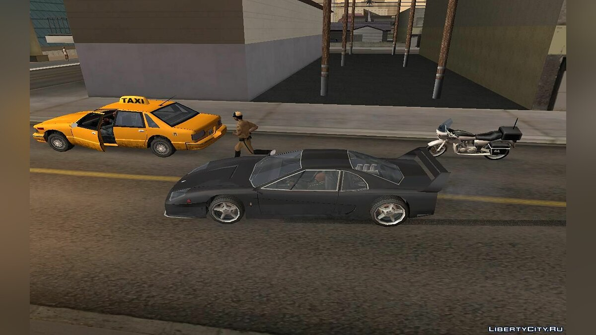 Global mod Grand Theft Auto: The '95 Story for GTA San Andreas