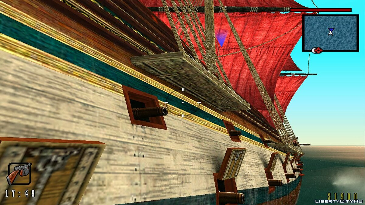 Global mod GTA: Scarlet Sails for GTA San Andreas