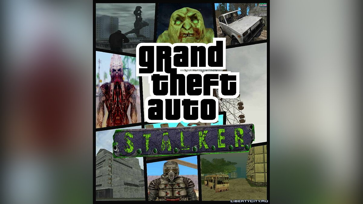Global mod GTA STALKER Projects | Complete edition for GTA San Andreas