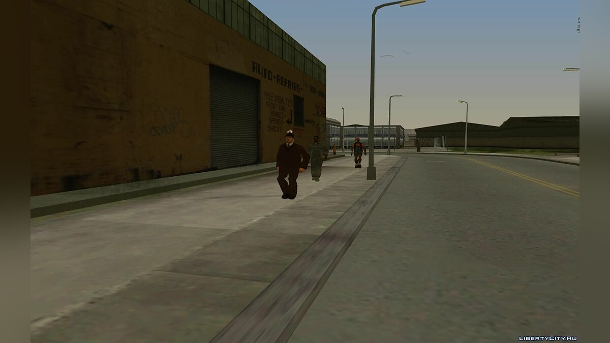 Global mod GTA SA Liberty City beta 8 Update for GTA San Andreas