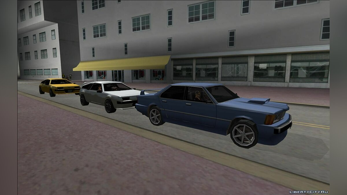 Global mod SAxVCxLC - Vice City and Liberty City in San Andreas (Update from 09/07/2020) for GTA San Andreas
