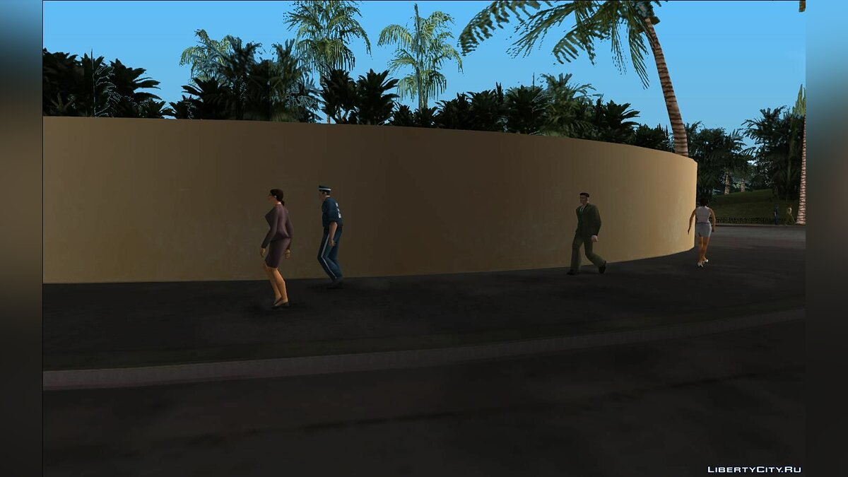 SAxVCxLC - Vice City and Liberty City in San Andreas (Update from 09/07/2020) for GTA San Andreas - Картинка #11