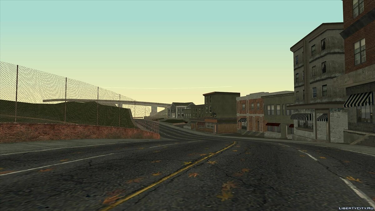 Global mod Grand Theft Auto - Rockport city (from December 2018) for GTA San Andreas