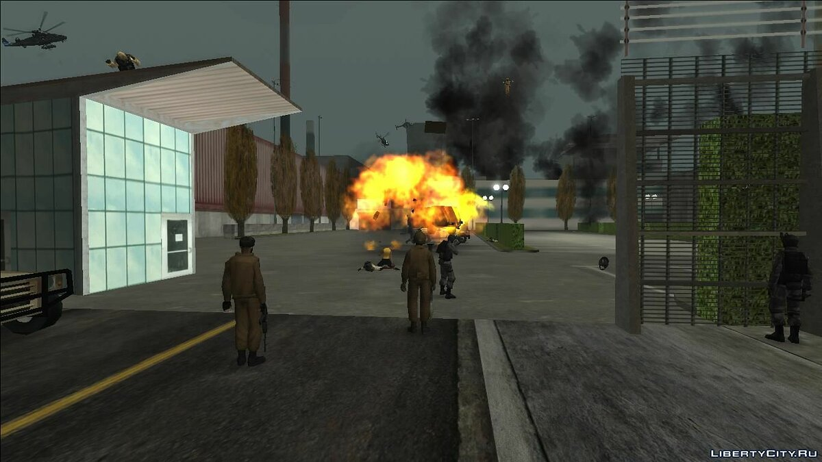Global mod ZA World War 3 [2.0] for GTA San Andreas
