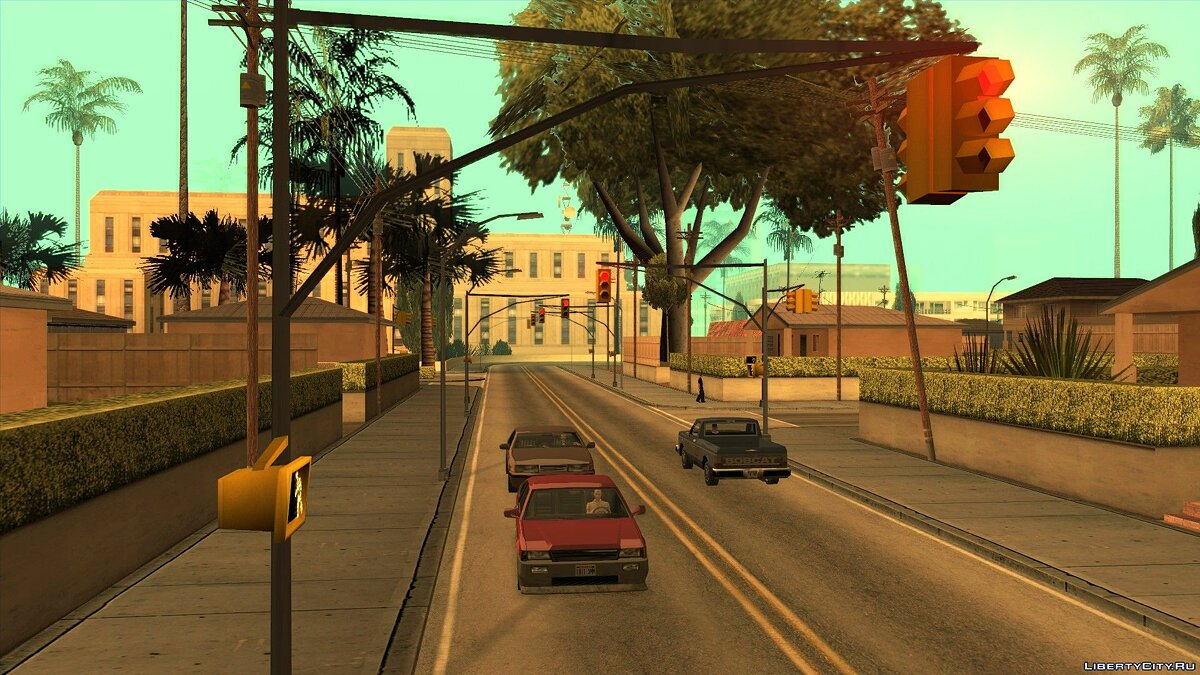 Global mod San Andreas: Blast From The Past for GTA San Andreas