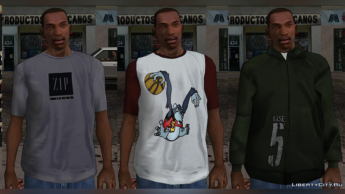 Global mod GTA SA Comic Edition for GTA San Andreas