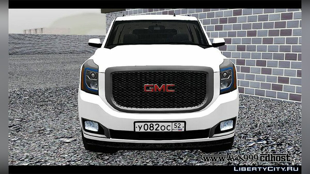 GMC car 2018 GMC Yukon Denali for GTA San Andreas