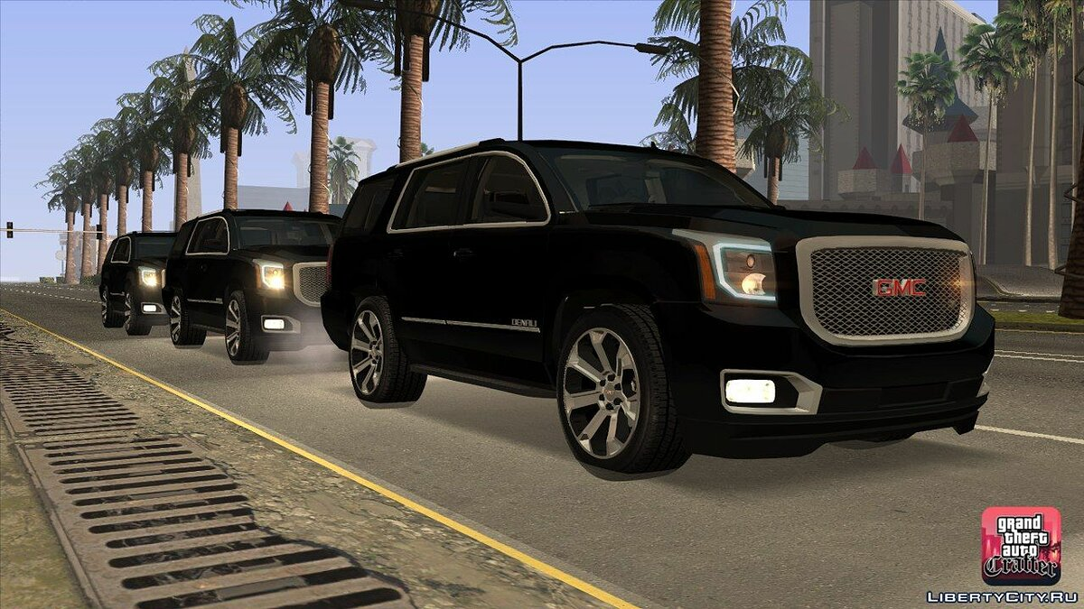 GMC car 2015 GMC Yukon Denali for GTA San Andreas