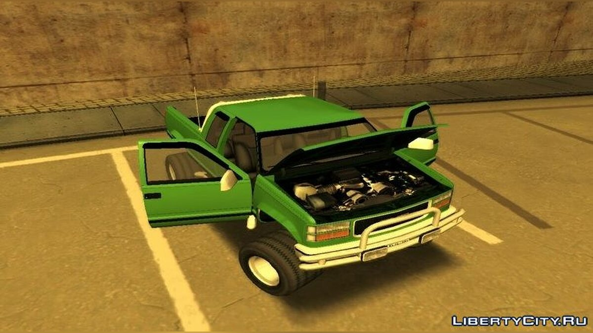 GMC car GMC Sierra Monster Truck 1998 for GTA San Andreas
