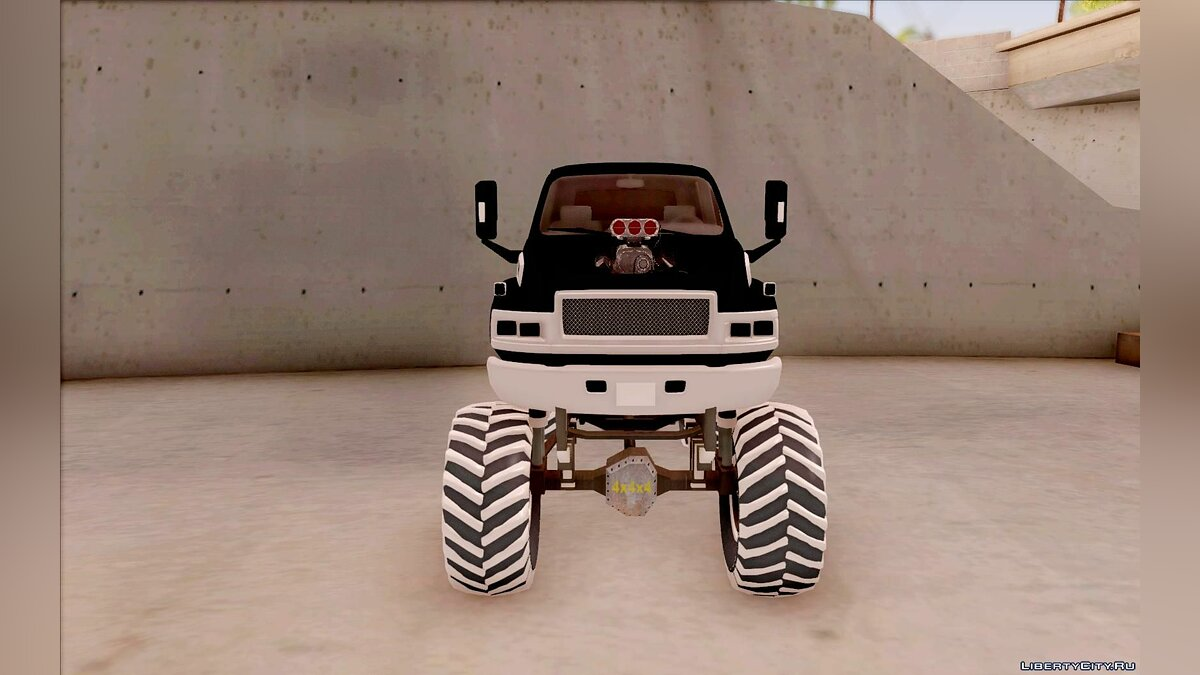 GMC car GMC Monster Truck for GTA San Andreas