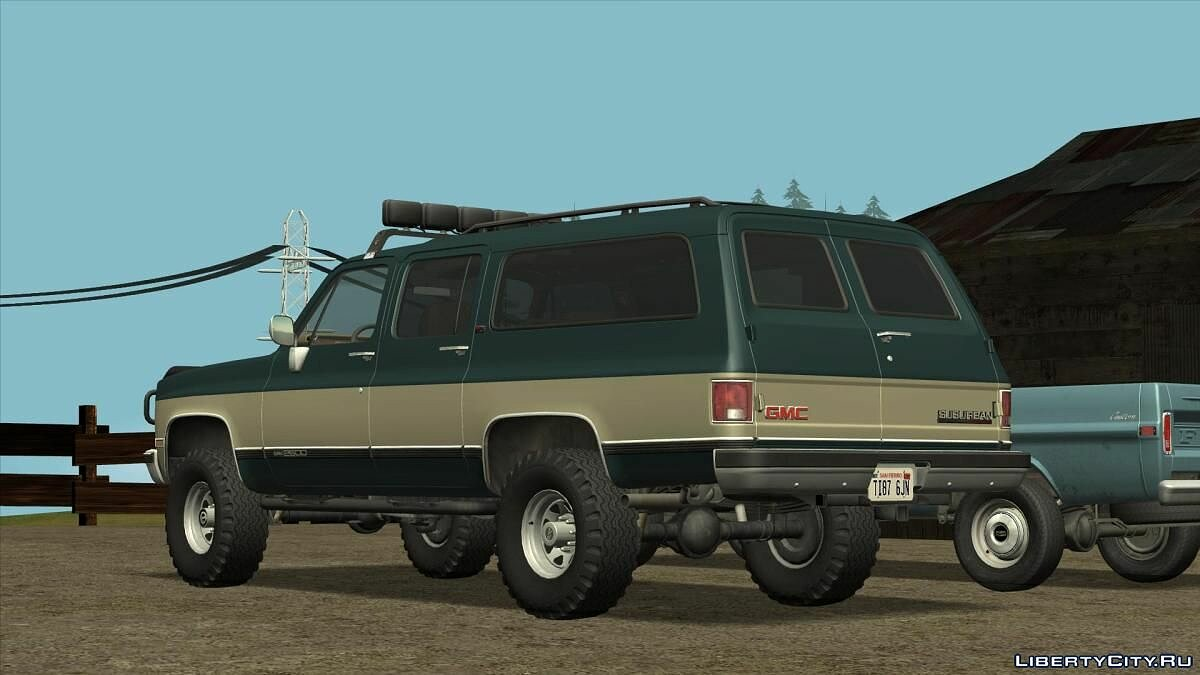 GMC car 1989 GMC Suburban for GTA San Andreas