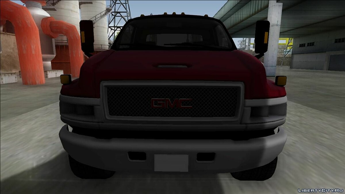 GMC car 2008 GMC Topkick C4500 for GTA San Andreas
