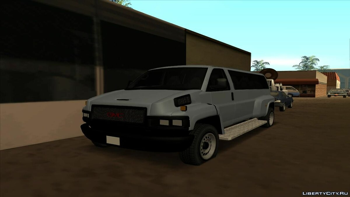 GMC car GMC Savana C5500 for GTA San Andreas