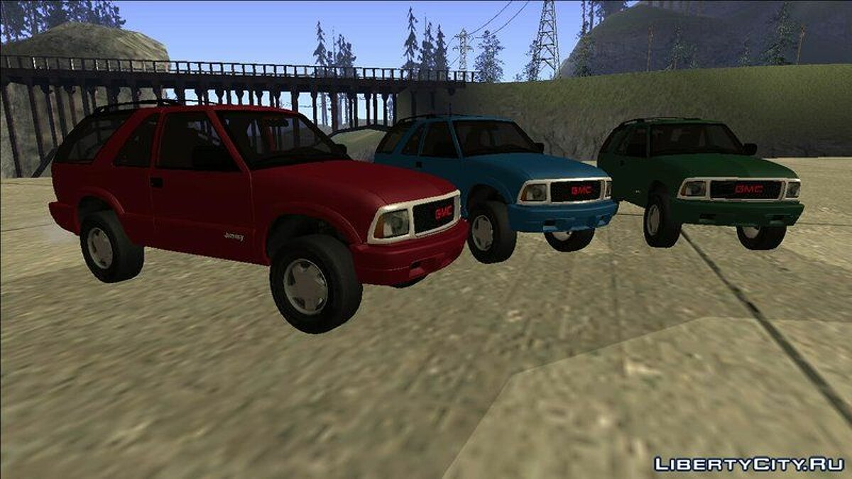 GMC car 2001 GMC Jimmy for GTA San Andreas