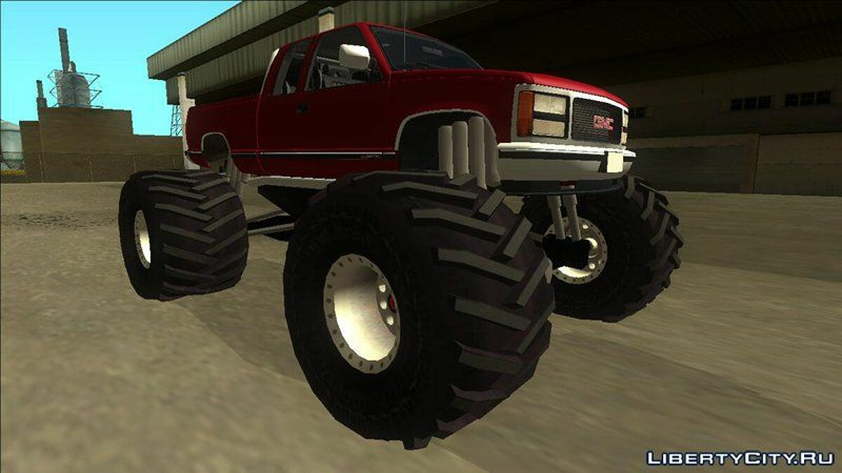 GMC car 1992 GMC Sierra Monster Truck for GTA San Andreas