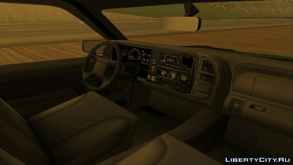 GMC car GMC Sierra 1998 for GTA San Andreas