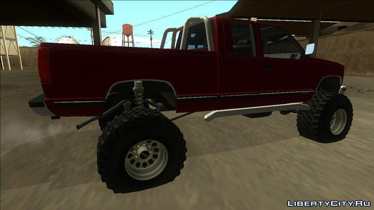 GMC car 1992 GMC Sierra Off Road for GTA San Andreas