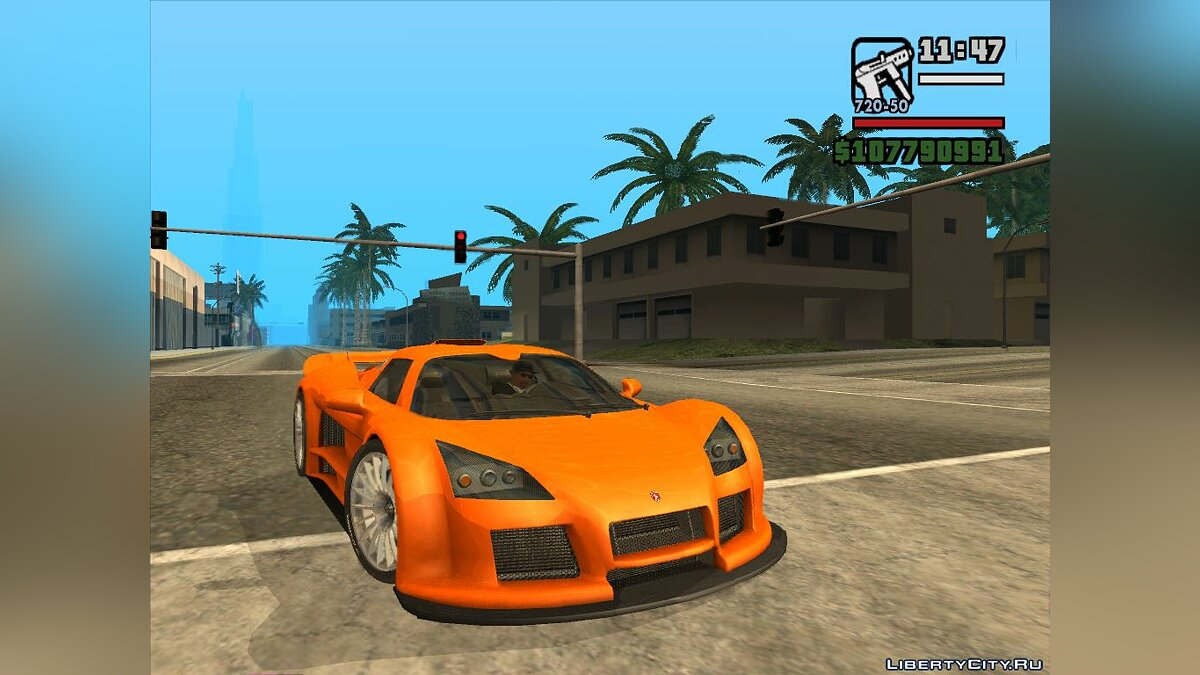Gumpert car Gumpert Apollo for GTA San Andreas