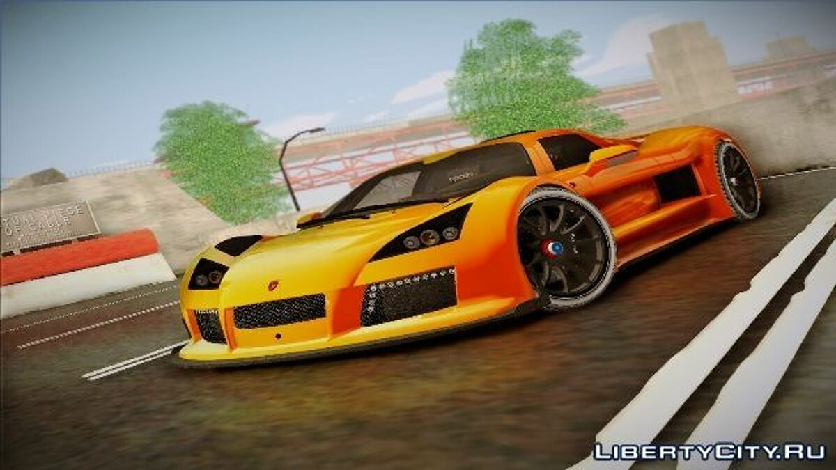 Gumpert car Gumpert Apollo S 2012 for GTA San Andreas