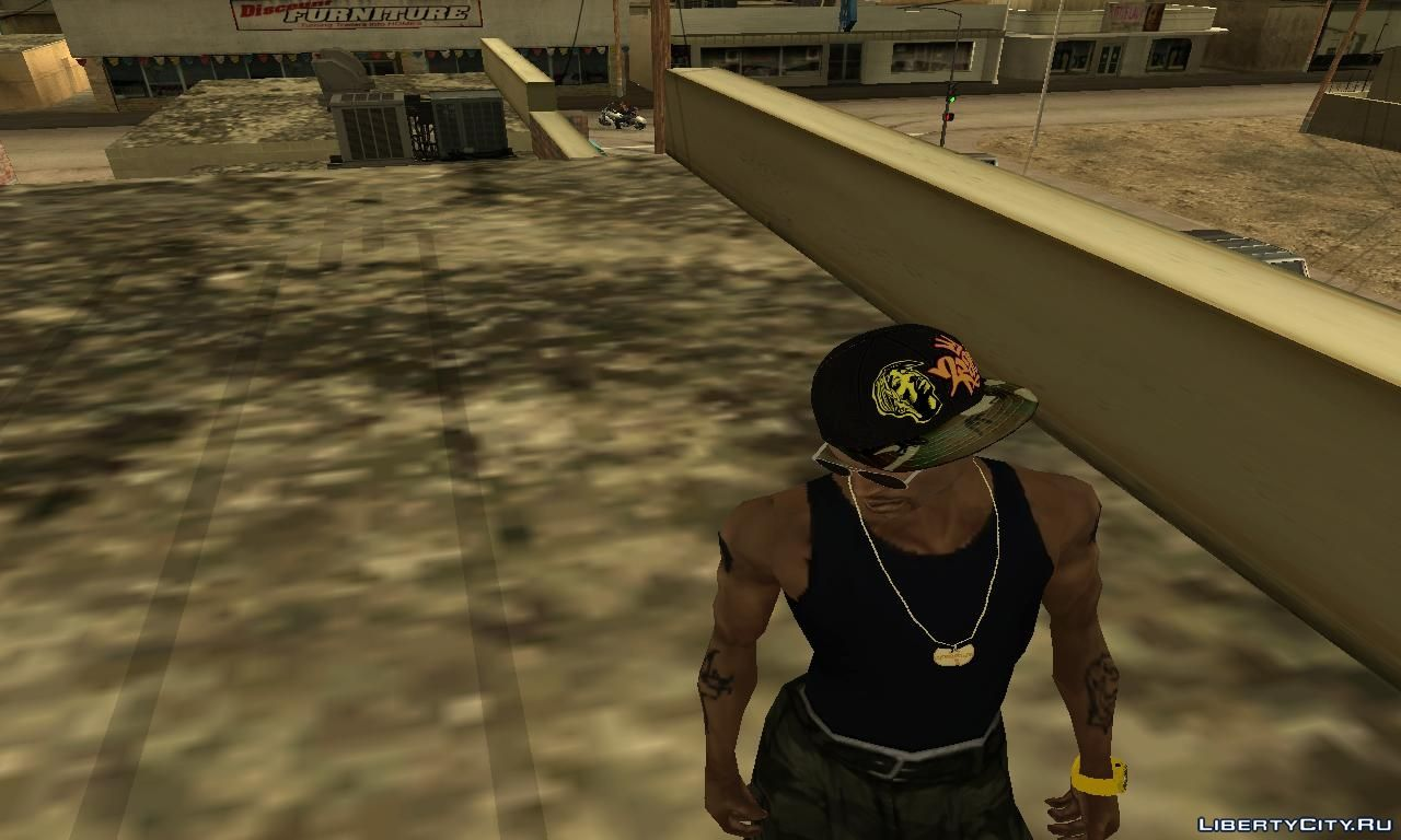 Cap 2pac for GTA San Andreas