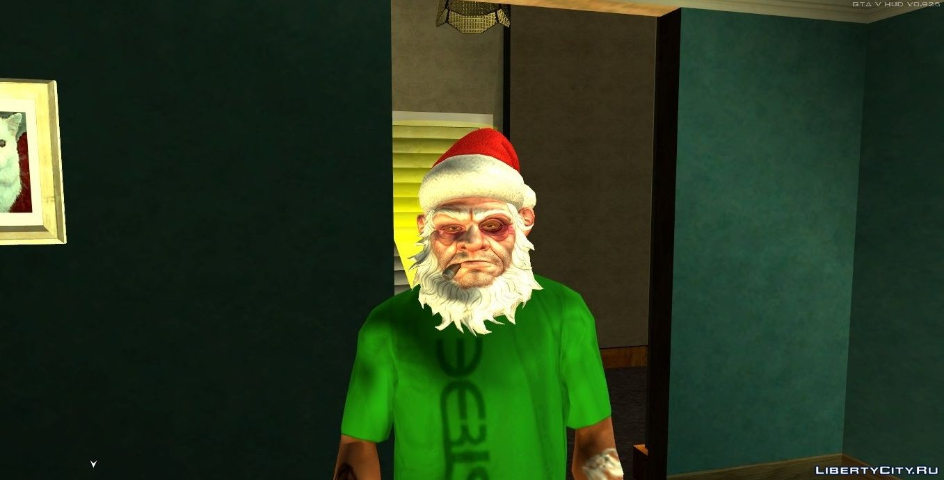 All Gta Christmas Masks.Mask Of The Buoyant Santa Claus V1 Christmas 2016 For Gta