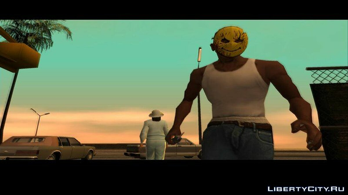 Hats Mask smile from Manhunt for GTA San Andreas
