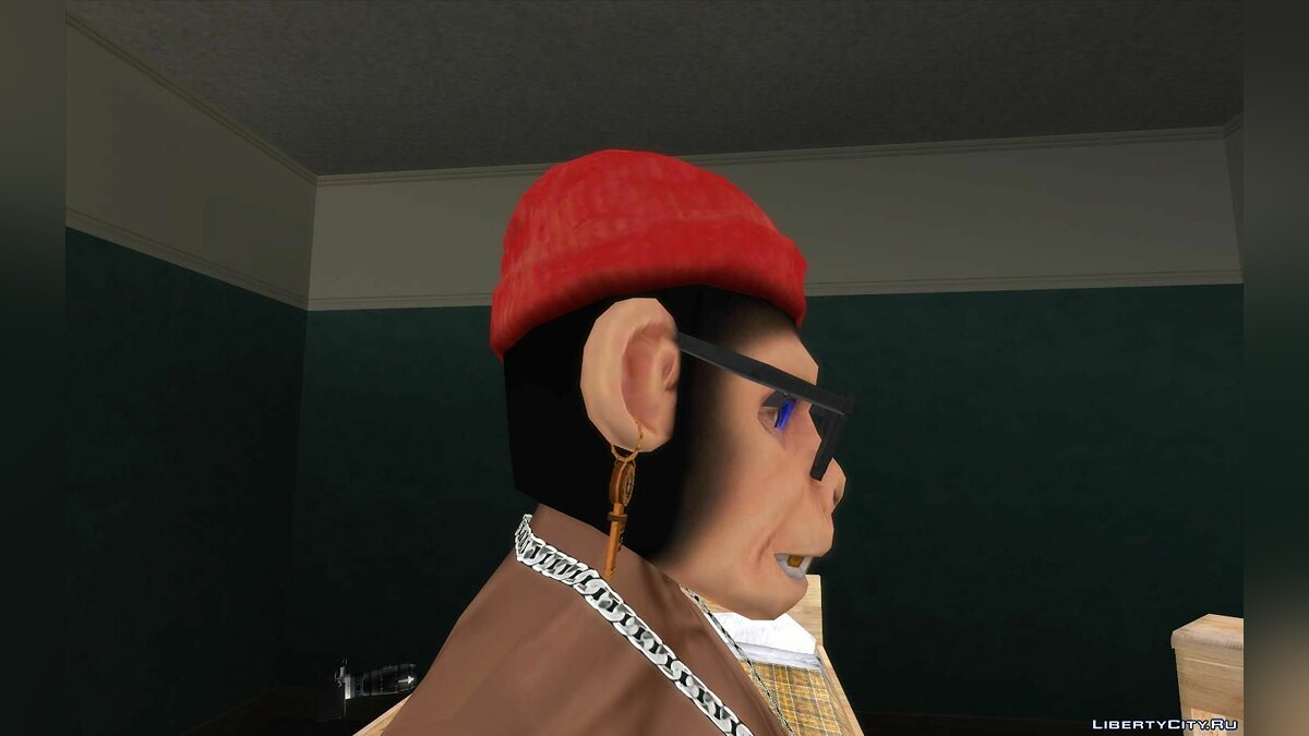 Hats Monkey mask for GTA San Andreas