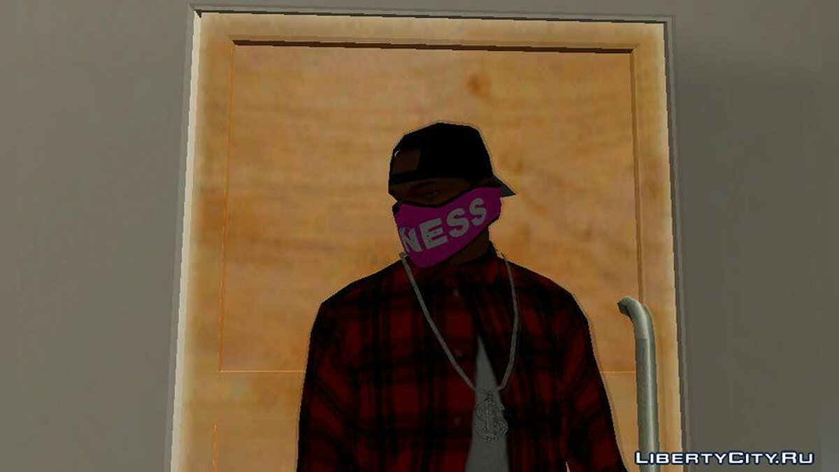 Hats Face Masks from GTA Online for GTA San Andreas
